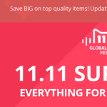 24 Hrs to the 11.11 Global Shopping Festival: Big Discount Announced By Stores