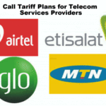 Call Tariff Plans and Packages for all Nigerian Telecom Services Providers