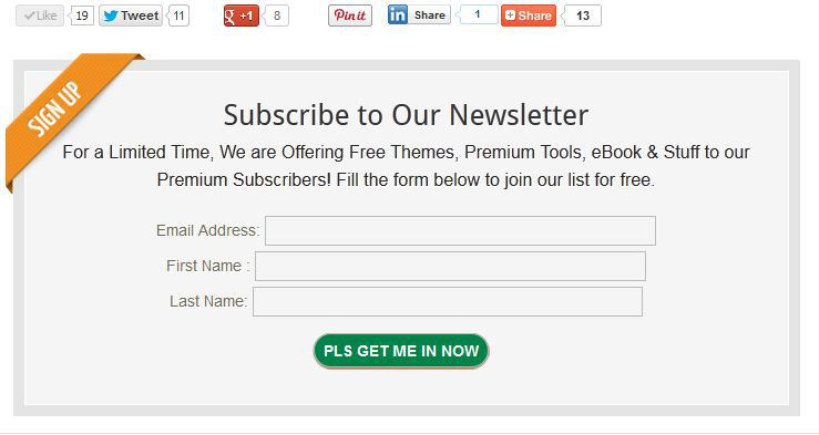 configure mailchimp subscription, opt-in form to display below post content, before comments in wordpress