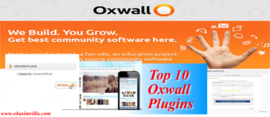 Top 10 Plugins for oxwall