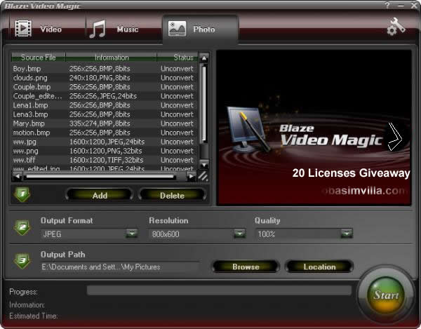 win 20 Premium Licenses for Blaze Video Magic