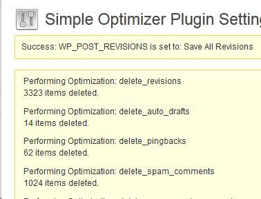 optimize wordpress and save your server some juice