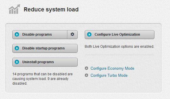 tuneup Utilities Speed optimizer