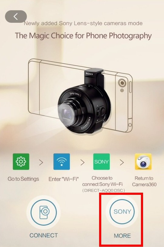 Camera360 app tutorials