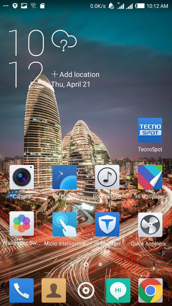 Tecno C8 Upgrade