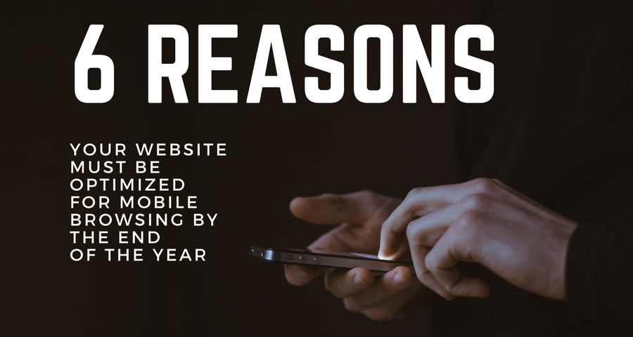 6 reasons to optimize website for mobile