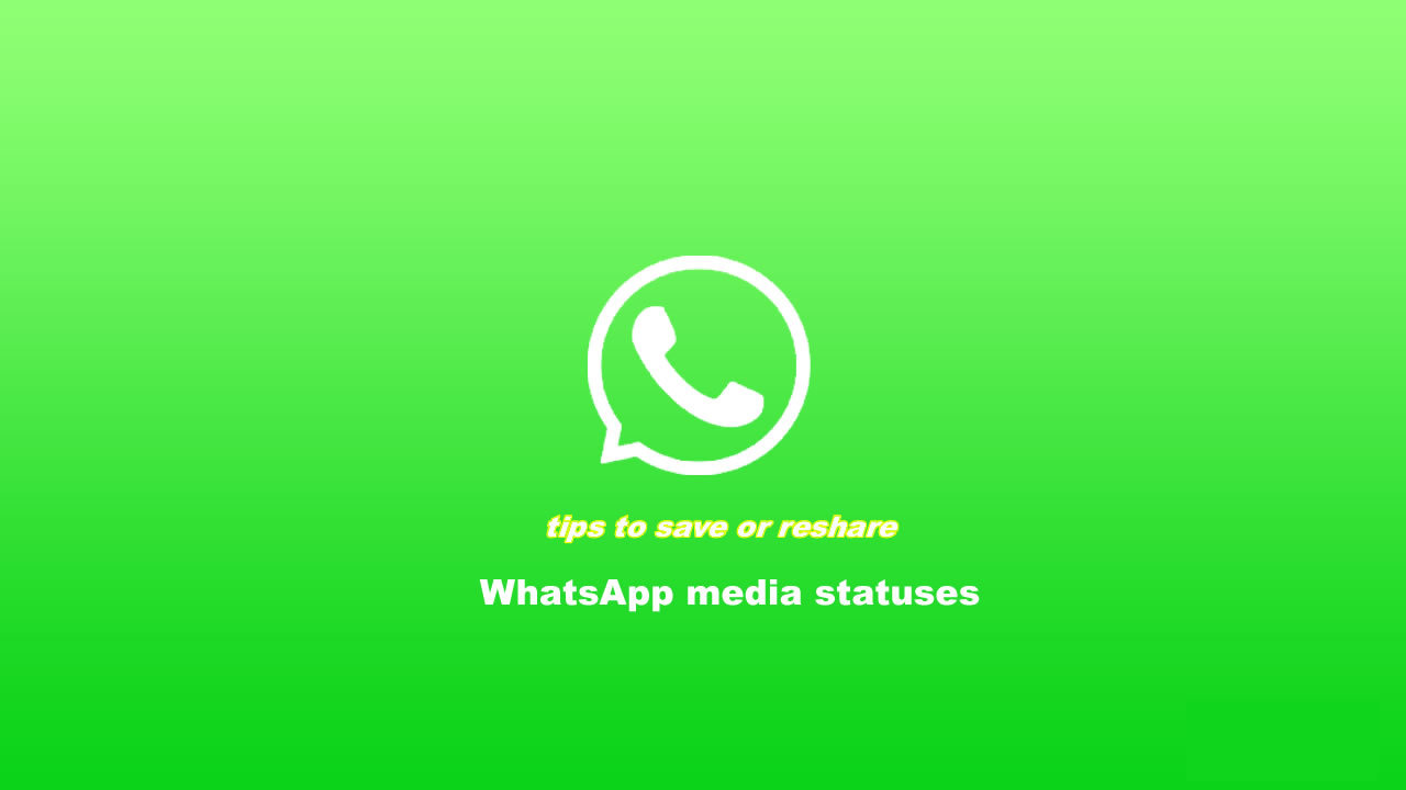 5 Ways To Download Whatsapp Media Status To Gallery Ios
