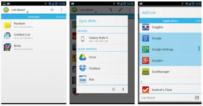 DataSync root app preview