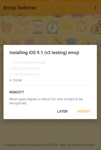 get ios emojis on Android
