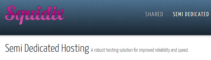 squidix hosting as hosting alternative to Godaddy and 1and1