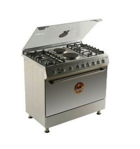 Polystar Gas Cooker 4 Burners And 2 Electric Cooker