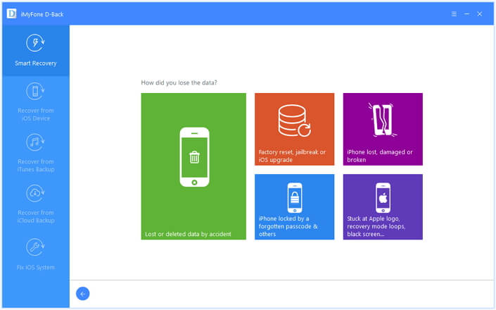 iMyfone d-back data recovery app review