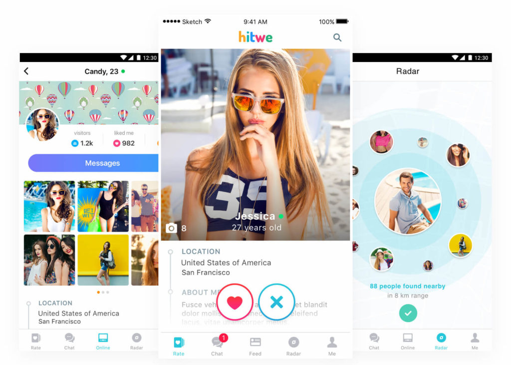 Hitwe social discovery app