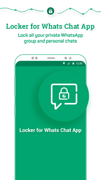 Locker for Whats Chat App intro