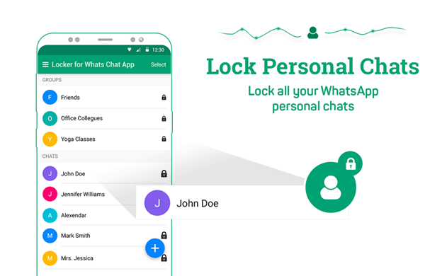 Locker for Whatsapp messaging App review 2018