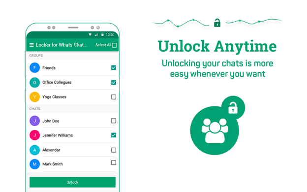 Locker for WhatsChat App review and tutorials 2018