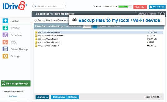 idrive cloud storage services review