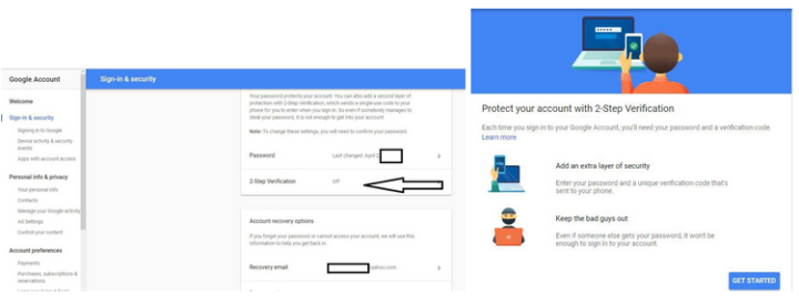 gmail password hack prevention tips