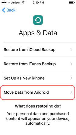 Move to iOS App Tutorials