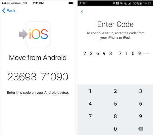 Move to iOS App Tips