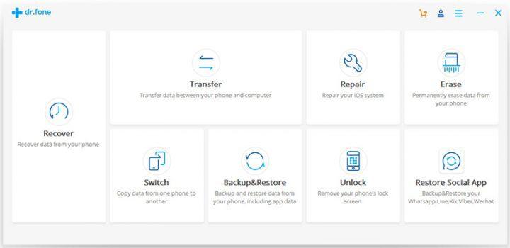 Wondershare drfone - switch tutorials