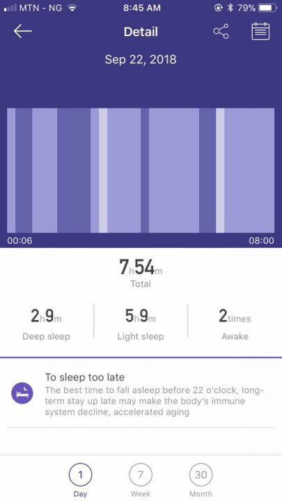Sleep monitoring