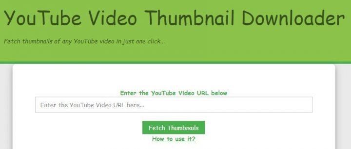 YouTube Thumbnail Generator