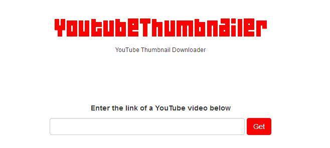 YouTube Thumbnailer