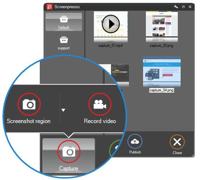 Screenpresso desktop screenshot tool