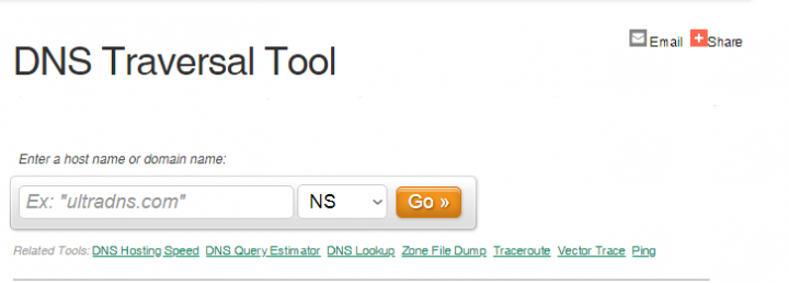 DNS Traveral Tool