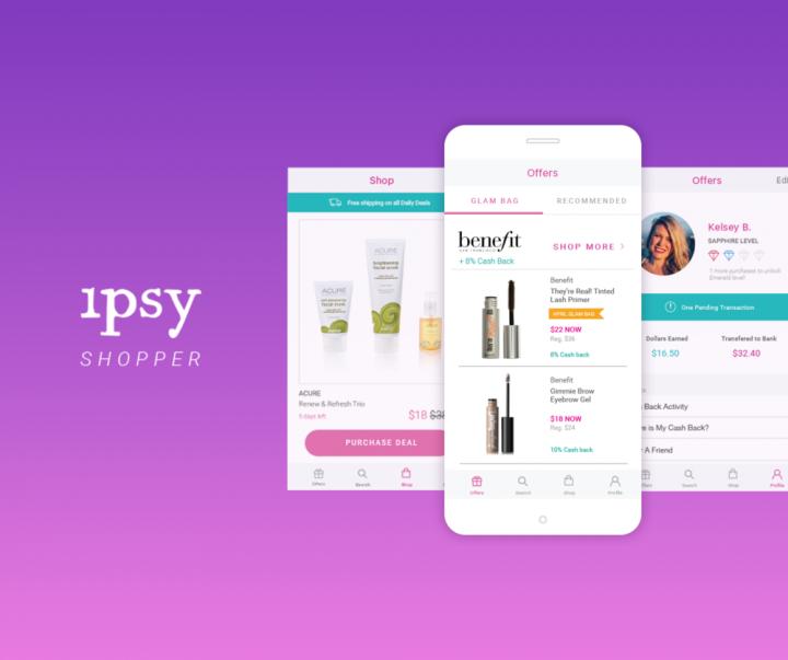 Ipsy fashion app