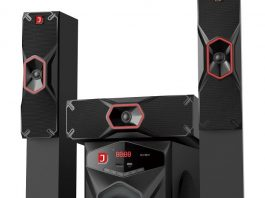 D-Jack 3031 home theater system