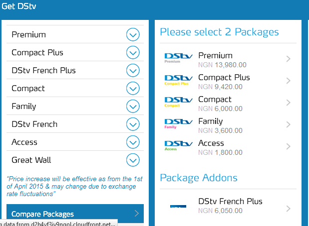 Clear Choice Locations >> MultiChoice DSTV Plans, Channels and Decoder Prices in Nigeria