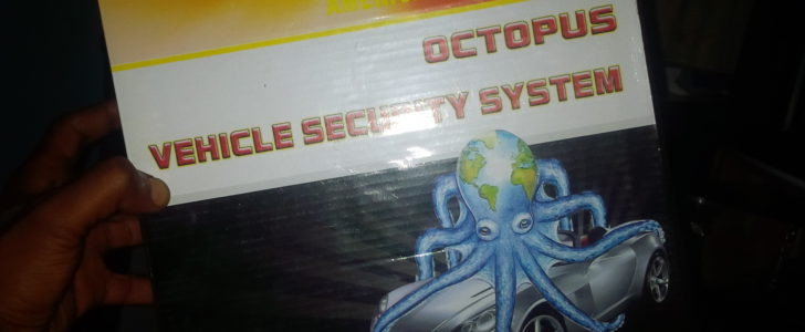 Octopus car remote and security system
