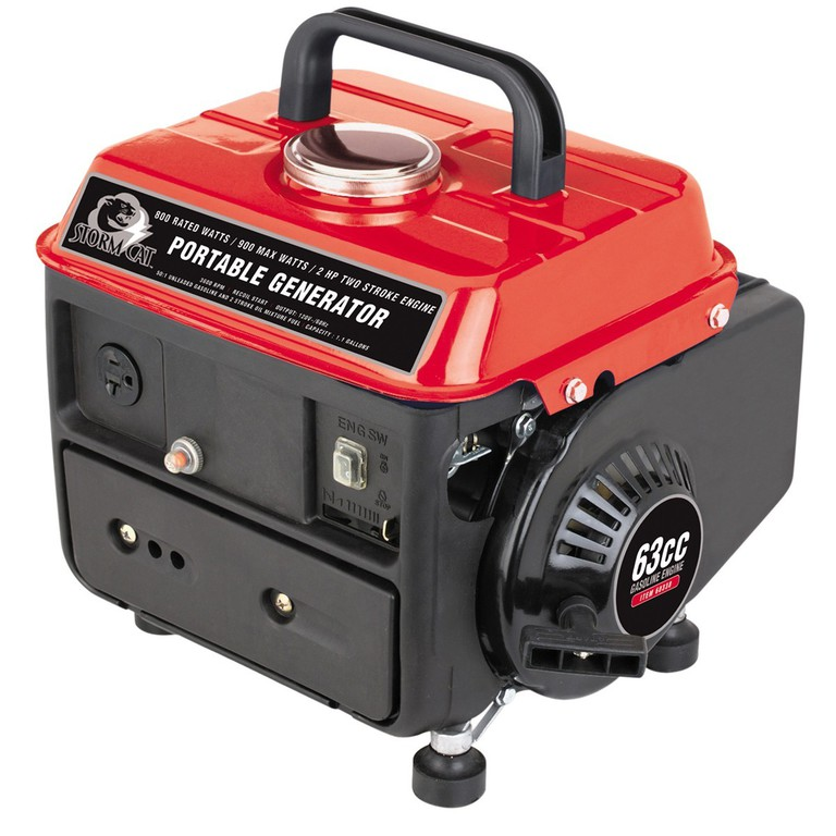 Storm Cat 800W/900W 2 HP Portable Generator