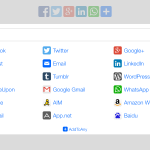 addtoany social media share plugin for wordpress
