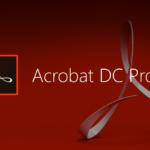 Acrobat PDF editor to convert pdf to word