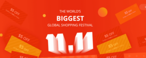 aliexpress 11.11 shopping festival 2016