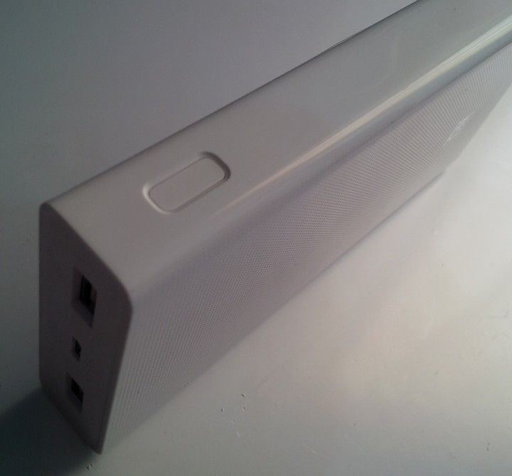 xiaomi Mi 20000mAH mobile power bank's build quality