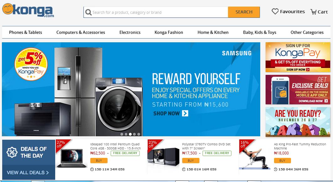Konga.com E-mall