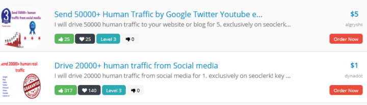seoclerks traffic gigs is among the worst ads to buy